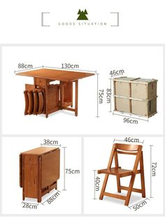 Small House Furniture, Space Saving Furniture, Home Decor Furniture, Dining Furniture, Cool Furniture, Foldable Dining Table, Dinning Table, Dining Room, Dinner Room Table