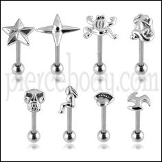 Alien Tongue Ring - Piercebody.com - Stunning Wholesale Body Jewelry at  Market Prices.