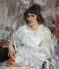 Портрет Ульяны Китаевой (1912). Николай Фешин