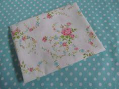ONE Sweet Vintage Sheet Fat Quarter, Vintage Floral Fabric, Vintage Fabric, Reclaimed Fabric, Sewing Supplies, Quilt Supplies, RPR1 on Etsy, $2.54 CAD