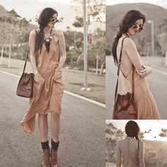 T Criss Cross Backless Long Dress With Pockets, Tsumijewelry, Small Round Shades, Choies Brown Lace Up Wood Heel Boots