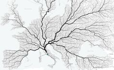 An Interactive Map Shows Just How Many Roads Actually Lead to Rome | Open Culture
