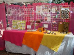 Craft fair show booth ideas