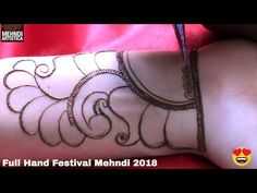 Intricate Henna Mehandi Design For Eid 2018 | 7 मिंट में पूरी हाथ भरवा मेहँदी लगाए | Mehndi Designs - YouTube Mehandi Designs Arabic, New Bridal Mehndi Designs, Mehndi Designs Book, Mehndi Designs For Beginners, Mehndi Designs 2018, Stylish Mehndi Designs, Dulhan Mehndi Designs, Mehndi Designs For Fingers, Mehndi Design Pictures