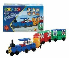 Clics Choo-Choo Train-Bus - Plane by Clics. $116.57. Occupational therapy toy. Educational construction toy set. The Clics family is traveling: in the Choo-Choo train, with the bus or by plane. Great for fine motor skills. Manipulative toy. From the Manufacturer                Clics box 130 pieces including accessories .As well as instructions to build a bus ,plane and a choo-choo train. It is manipulative, occupational therapy and educational toy. Great for fine motor s...