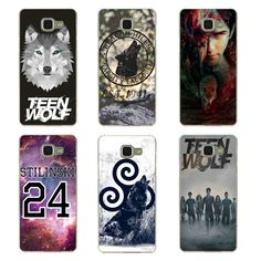Fashionable Teen Wolf Season phone cases for Samsung Galaxy A3 A5 A7 2015 and 2016 case Transparent hard cover