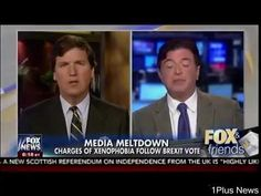 Media Meltdown - Charges Of Xenophobia Follow BREXIT Vote - Fox & Friends | 1Plus News