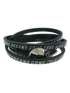 Change your attitude with this awesome bracelet! Check out www.blingapparel.ca for other colors