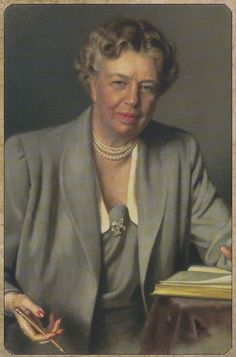 Eleanor Roosevelt, First Lady and human rights advocate