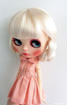 OOAK Blythe Doll Matilda Custom Blythe Doll by by SweetCrate