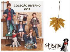 Grisino Brasil, Lançamento Inverno 2014  Meninas e Meninos 6m a 6 anos  www.varaldetalentos.blogspot.com