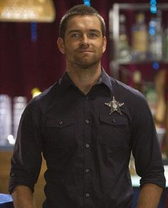 Antony Starr Banshee..Thanks for the recommendations to watch this.. I will now never get anything done :/