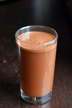 Brilliant >> Homemade Chocolate Coconut Water #recipe