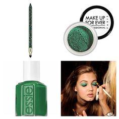 emerald make-up