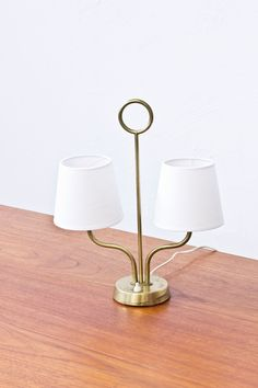 1940s table lamp attributed to Hans Bergström via modernisten. Click on the image to see more!