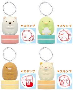 AmiAmi [Character & Hobby Shop] | Sumikko Gurashi - Figure Stamp 10Pack BOX(Back-order)