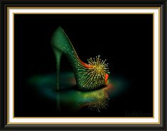 Tinkerbell Inspired Shoe - Disney Sole by ~becsketch