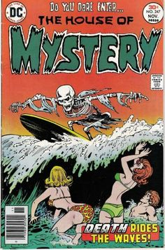Slay, Monstrobot of the Deep!!: Best Cover You've Never Seen--House Of Mystery #247 (1976)