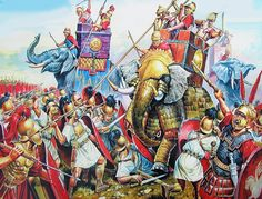 Punic War between Carthage and Rome