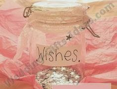 Bottle of wishes - Homemade Wedding Gifts Ideas