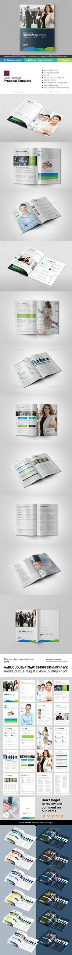 Corporate Executive Business Stationery Print Pack Stationery - travel proposal template