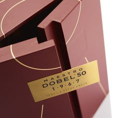 Maestro Dobel is a brand name celebrated by connoisseurs around the world. Last year, Maestro Dobel released two commemorative tequilas in honour of founder Juan Beckmann's – and the MW Luxury team were invited to manufacture the packs. Luxury Packaging, Brand Packaging, Packaging Design, Presentation Folder, Wine Case, Packaging Solutions, Paper Packaging, Travel Design, Wedding Art