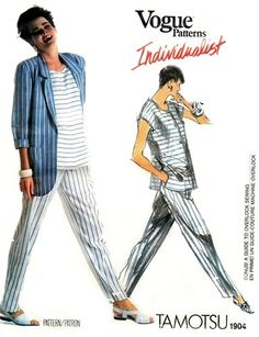 Vogue 1904 Breezy Jacket, Top & Pants 1987