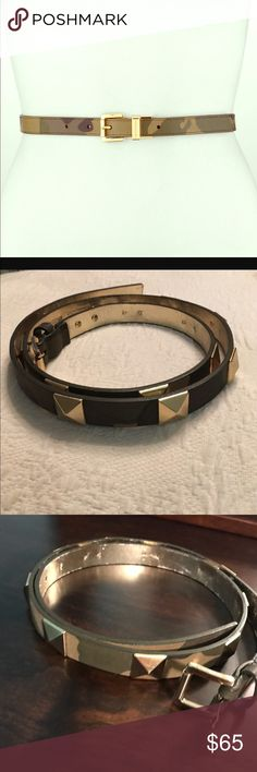 Michael Kors Camo Belt New Camo belt by Michael Kors. This belt is lovely. In perfect condition. Size large. 💯 % authentic. New without tags Michael Kors Accessories Belts