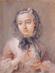François Boucher  Charlotta Sparre, aged twenty-one  1741  Day & Faber