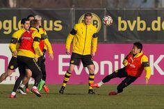 BVB-Training in Brackel am 16. Februar.
