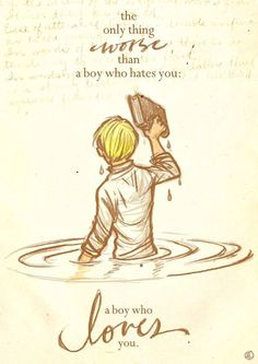 The only thing worse... {The book thief}