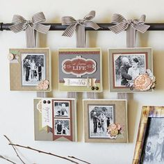 Close To My Heart Home DIsplay. I Love THis! I wish I had the time to make it!
