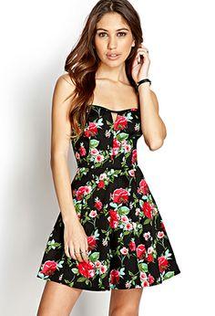 Darling Rose A-Line Dress | FOREVER21 - 2000127424
