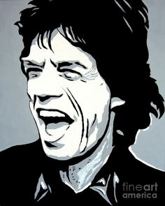 20 best ideas for pop art painting music canvases Music Canvas, Pop Art Portraits, Shadow Art, Vector Portrait, Silhouette Art, Stencil Art, Black And White Portraits, Mick Jagger, Pyrography
