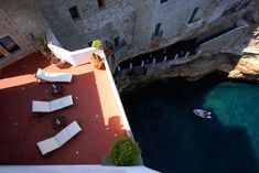 Hotel Grotta Palazzese in Polignano A Mare, Italy