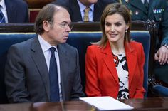 Queen Letizia of Spain attends the Rare Diseases World Day Event at the Senate Building on March 5, 2015 in Madrid, Spain.