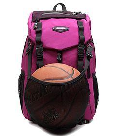 7dae6d5f5889 Laptop School Sports Travel Backpack Basketball