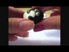 Tutorial - Pinguino in Fimo - Polimer Clay Penguin