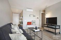 컴팩트 아파트, 북유럽 인테리어, 화이트&그레이, 인더스트리얼 스타일, 스칸디나비아 디자인, 젊은 부부…