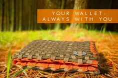 ParaWallets - Paracord Survival Wallet with Firestarter on Kickstarter