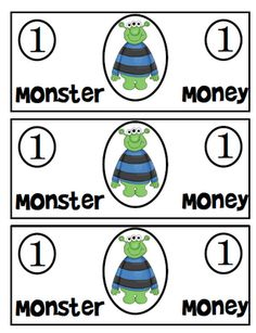 directions for monster money game