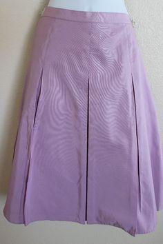 Isaac Mizrahi sz 8 Medium Pink Skirt Silk  | eBay