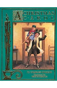 A Christmas Carol by Charles Dickens  Price: $3.99; Ages: All. In this story, grumpy old Scrooge is a miserable man who cares nothing about people, but just about his business' bottom line. On Christmas Eve he is visited by some very persuasive ghosts who make him take stock of his life. He doesn't like what he sees and the next day he is a changed man.