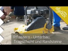 Die Vorbereitung für das Pflaster - Die Tragschicht - Anleitung @ diybook.at