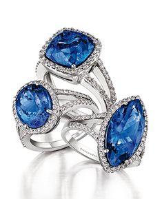 Tanzanite Rings Microset by Shimansky Tanzanite Rings, Gemstone Rings, African Diamonds, Holiday Jewelry, Jewelry Armoire, Birthstone Jewelry, Luxury Jewelry, Jewelry Trends, Jewelry Collection