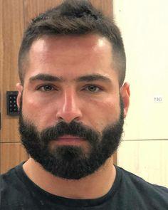 Scruffy Men, Hairy Men, Bearded Men, Beard Styles For Men, Hair And Beard Styles, Moustache, Beard Growth Kit, Hot Guys, Sexy Military Men