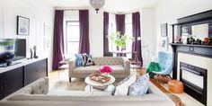 HOUSE TOUR: A Pre-War Apartment With Modern, Global Flair - ELLEDecor.com