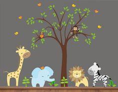 Nursery Cute Baby Wall Stickers