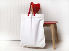 Large Laundry Bag French market tote bag by FrenchMelody on Etsy
