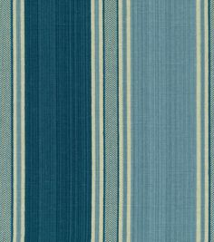 Waverly Upholstery Fabric-Spotswood Stripe Porcelain